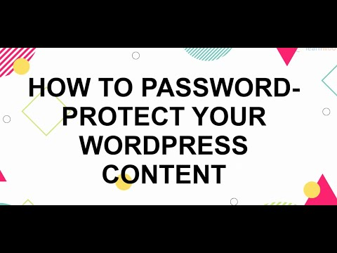 How To Password Protect WordPress Site