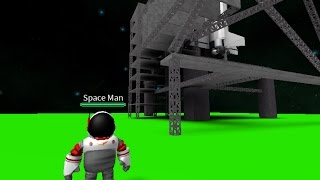 Going to space in Roblox