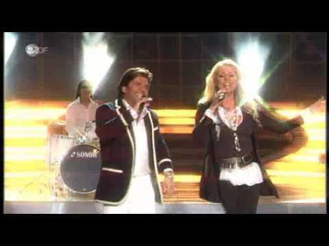 SANDRA feat THOMAS ANDERS-The Night Is Still Young Willkommen bei Carmen Nebel ZDF 09 05