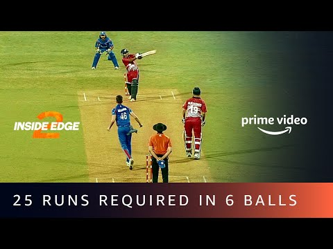 25 Runs Required In 6 Balls - Mumbai Mavericks Vs. Haryana Hurricanes | Amazon Prime Video