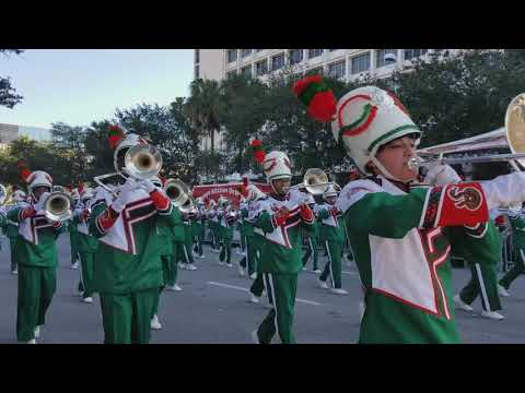 FAMU BAND IN ST. PETE MLK PARADE 2018