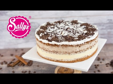 Eistorte mit Vanille- und Zimtparfait / Naked Cake / Sallys Welt