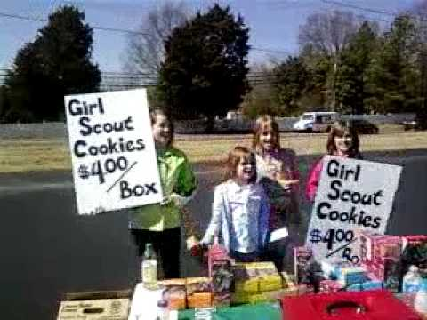 We are the Girls Scouts