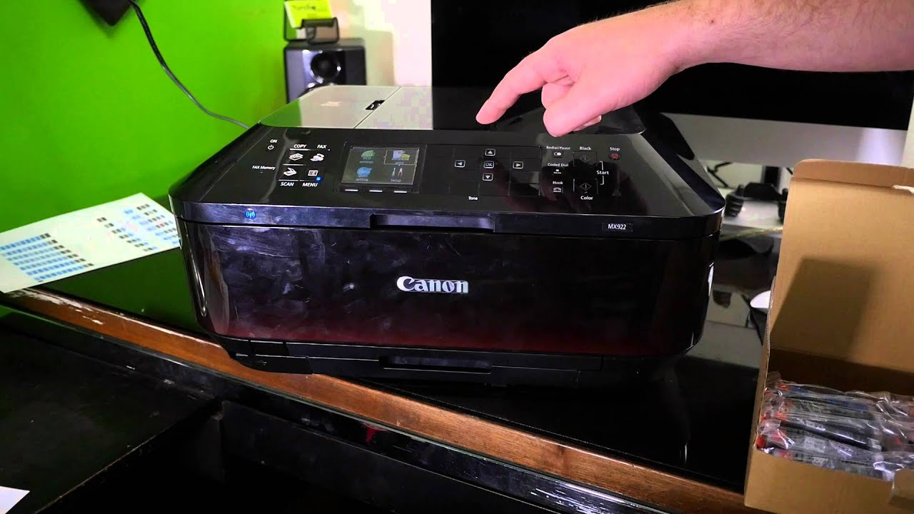 Canon PIXMA MX922 Wireless All-In-One Printer Review and ...