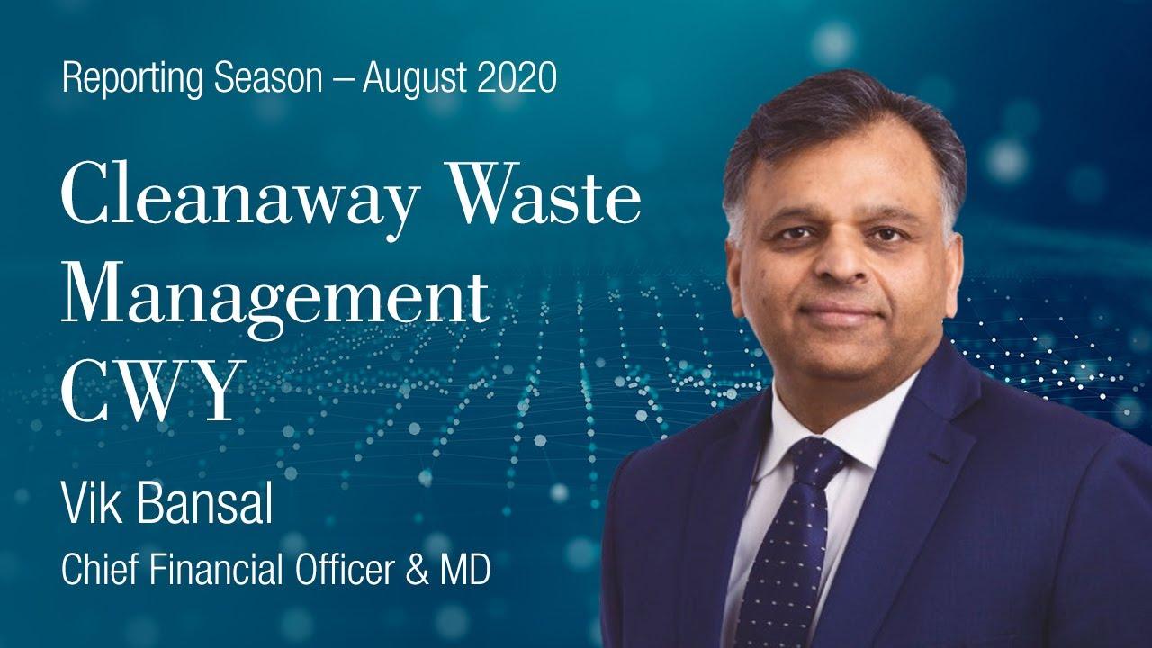 Reporting Season 2020 Cleanaway (ASX:CWY): Vik Bansal, Managing Director and CEO