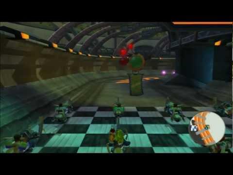 Jak II - Speed Speedily trophy - Win Class 1 Race in Stadium mission