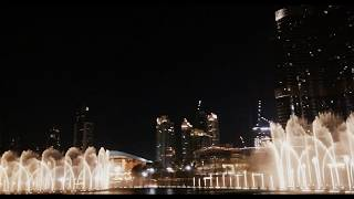 The Prayer Song (Dubai Mall Dancing Fountain) HD
