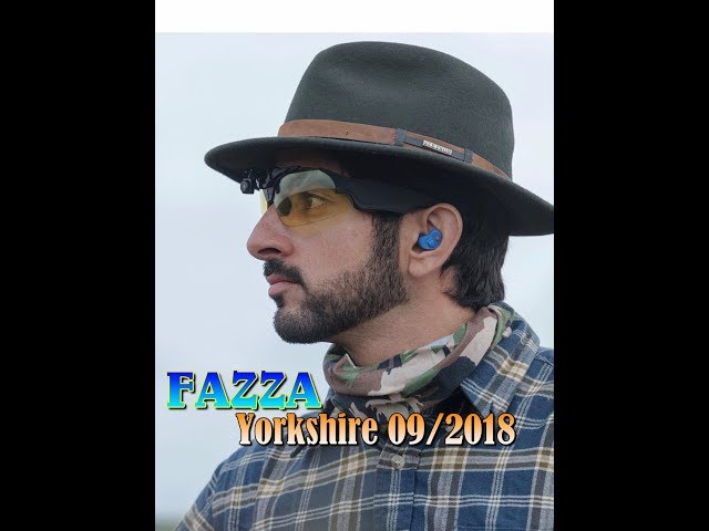 Sheikh Hamdan ( ???? Fazza @faz3) Yorkshire, England 2018