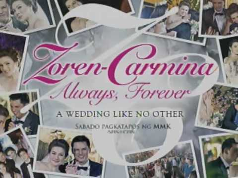 A WEDDING LIKE NO OTHER : The Zoren & Carmina Wedding Special