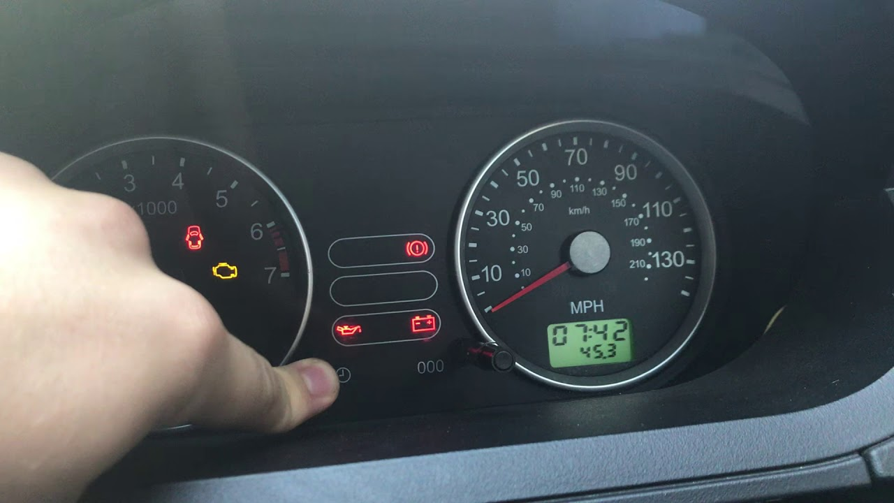 How To Change The Clock On A Ford Fiesta Ztec 1 25l 2002 2008 Mk 6