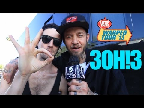 Vans Warped Tour with Rick Thorne - 3OH!3 Interview