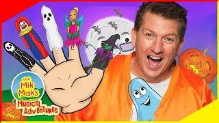 Halloween Finger Family | Fun Halloween Songs and Nursery Rhymes for Kids | The Mik Maks