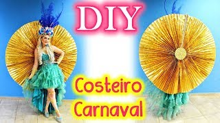 DIY &quotCOSTEIRO DE CARNAVAL&quot - Traje Tipico Miss Mundial 2017 (Brasil ) Fantasia