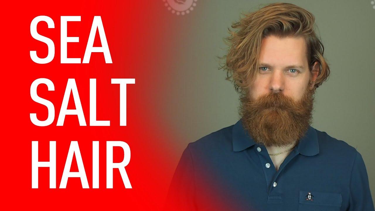sea salt mens hairstyle guide beach hair eric