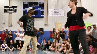 Finals: Venom vs Marie Poppins | Step Ya Game Up 2012 Popping | Funkd Up TV