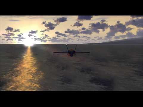 FSX - PRAETORIANS-FS Hawaï en F/A-18