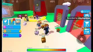 Roblox SHINY Bubble Hum Simulator Parti 1