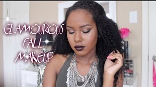 Glamourous Vampy Fall Makeup Thumbnail