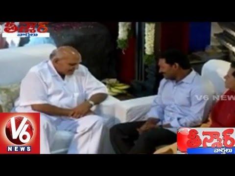 YS Jagan Meets Ramoji Rao | Saakshi vs Eenadu | Ramoji Film City | Teenmaar News | V6 News