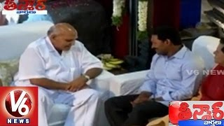 YS Jagan Meets Ramoji Rao | Saakshi vs Eenadu | Ramoji Film City | Teenmaar News | V6 News