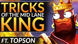 Why TOPSON is a MID LANE MONSTER: How YOU can WIN MID EVERY TIME - Pro Tips & Tricks - Dota 2 Guide