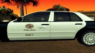 LSPD Ford CrownVic Car Mod