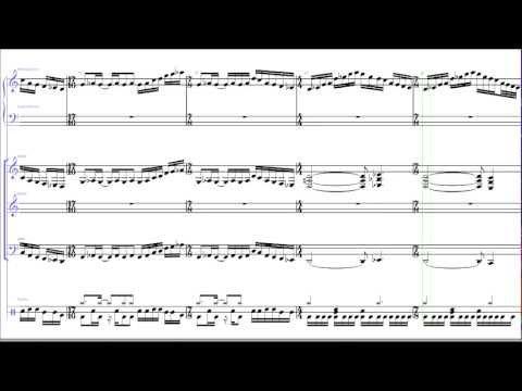 The Dance Of Eternity - Dream Theater | Sibelius Transcription