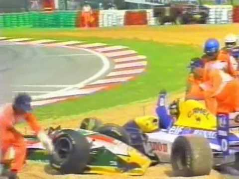 Image result for 1993 kyalami hill zanardi