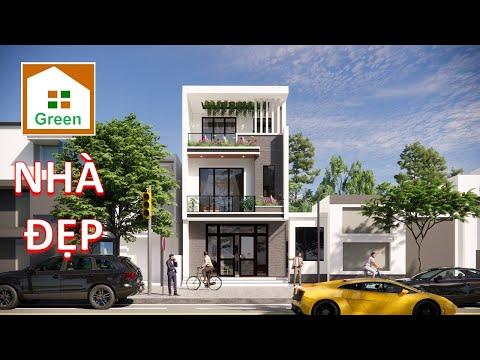 NHÀ ĐẸP 2021 Mẫu Nhà Phố 3 Tầng Đẹp Cảm ơn Anh Công Tại  Hạ Long Quảng Ninh