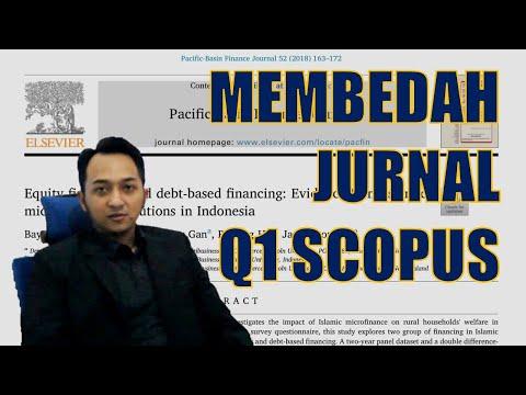 Tips Dan Trik Tembus Jurnal Scopus Q1 Youtube