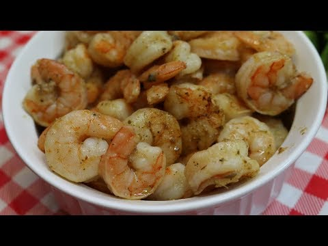 Oven Roasted Shrimp ~ Quick and Easy Shrimp ~ How to Cook Shrimp ~ Kitchen Basics ~ Noreen's Kitchen