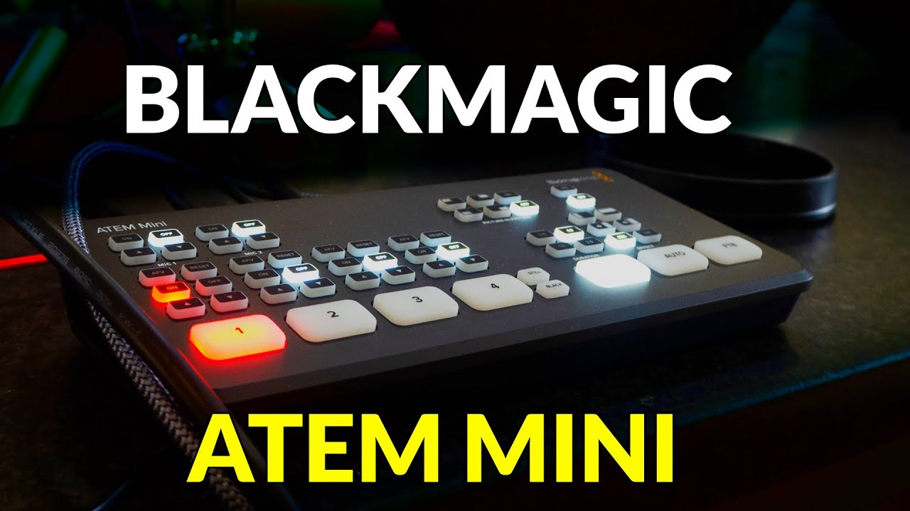 Blackmagic Atem Mini Hdmi Live Switcher Review Youtube