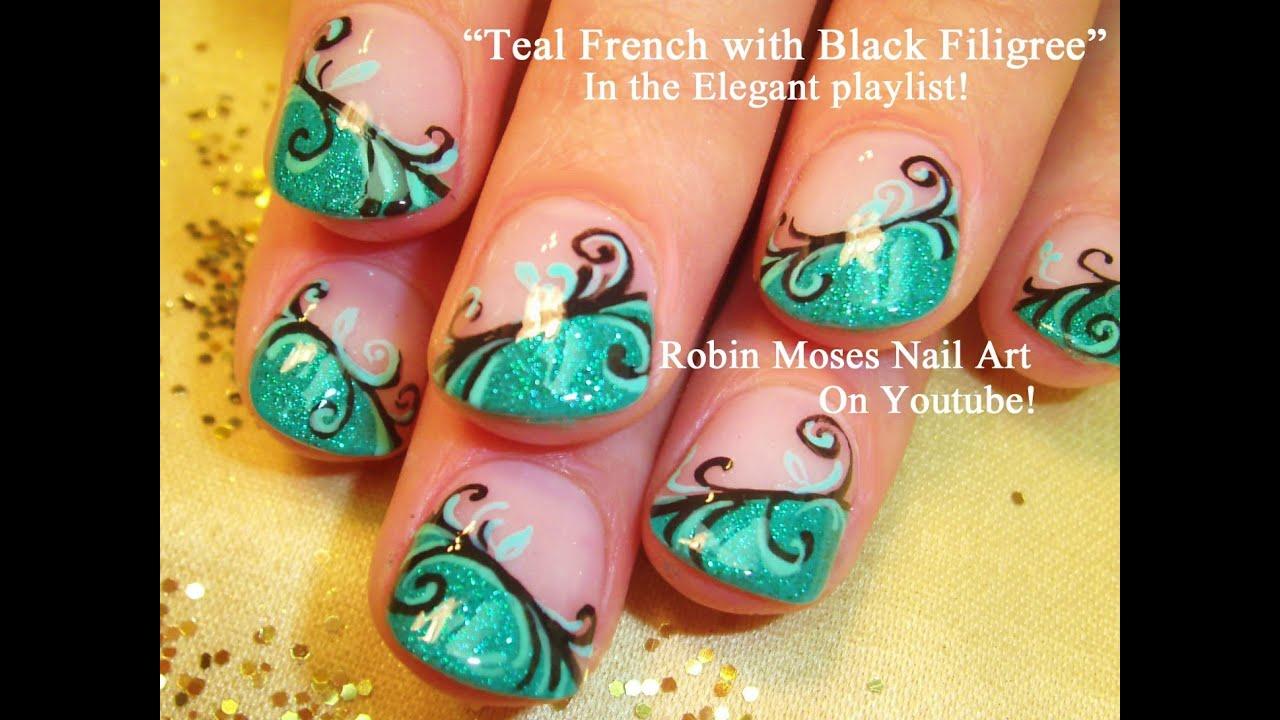 nail art tutorial diy easy glitter