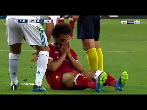 Real Madrid vs Liverpool | Sergio Ramos attack Mo.Salah
