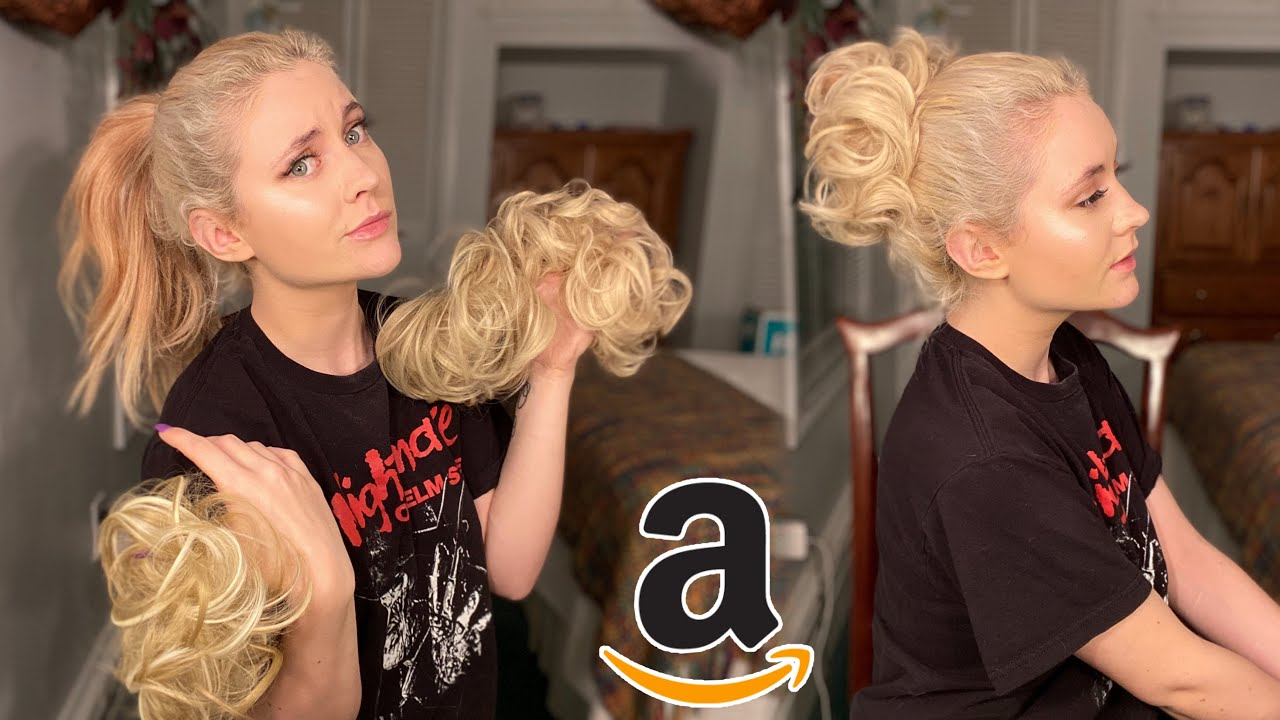 Download trying some messy buns from amazon!!