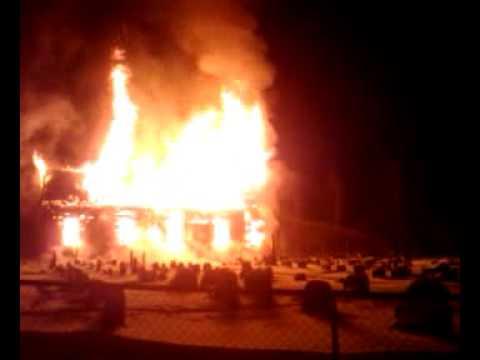 Brannen i Hønefoss kirke