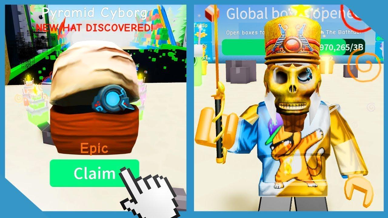 New Update! Pyramid Paradise! Rainbow Gem Pet! - Roblox Unboxing Simulator