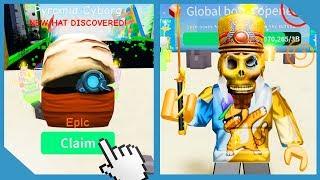 Neues Update! Pyramidenparadies! Regenbogen Edelstein Pet! - Roblox Unboxing Simulator