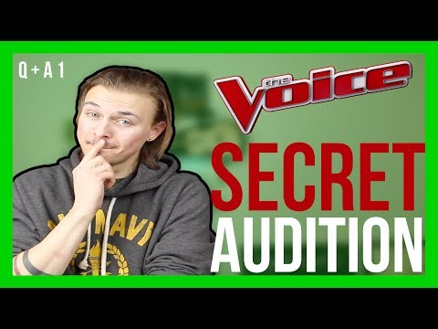 I AUDITIONED FOR THE VOICE?! [CC] || Jeff Miller