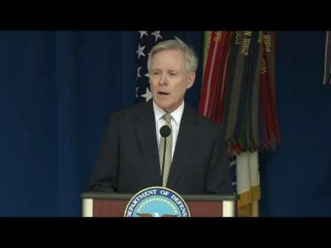 Navy Secretary Speaks at LGBT Pride Month Ceremony