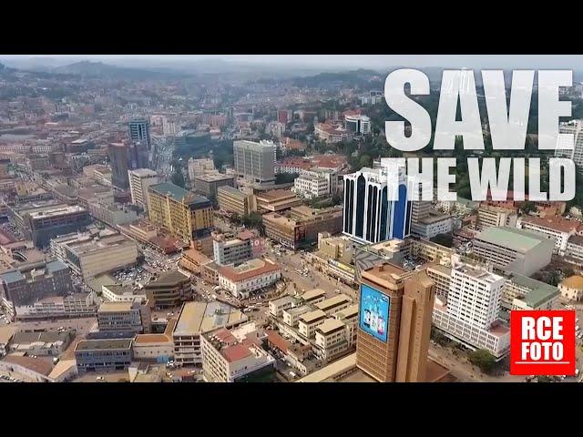 2 Gennaio 2021 - Kampala dall'alto