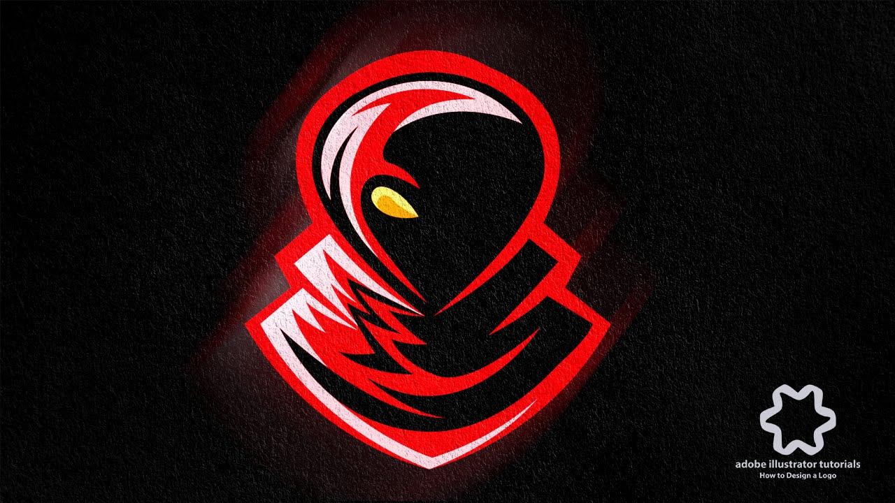 E Sport Horror Gaming Logo Sport Team Logo Design Adobe Illustrator Logo Design Tutorial Youtube