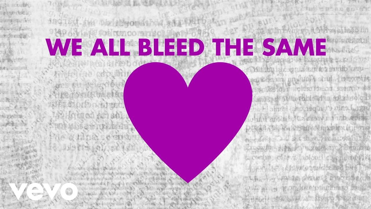 Mandisa - Bleed The Same (Official Lyric Video) ft. TobyMac, Kirk Franklin