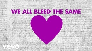 Mandisa - Bleed The Same (Lyric Video) ft. TobyMac, Kirk Franklin