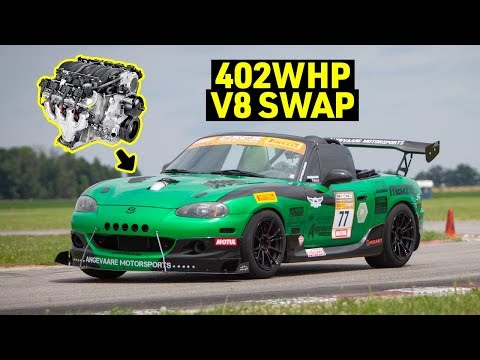LS Swap V8 Miata Review - Too Much Motor Not Enough Chassis?