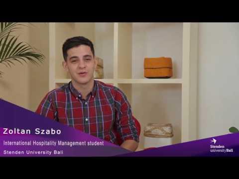 Stenden University Bali - IHM Student Testimonial