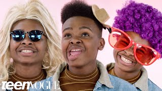 Jay Versace Creates 6 New Characters Using Costumes | Teen Vogue