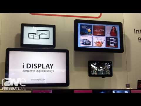 Integrate 2016: iDS Digital Displays Range of Android Digital Tablets for Commerical Applications