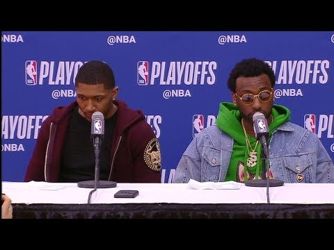 John Wall & Bradley Beal Postgame Interview | Raptors vs Wizards - Game 6 | 2018 NBA Playoffs