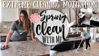 NEW! CLEAN WITH ME 2019 :: EXTREME SPEED CLEANING MOTIVATION :: ALL DAY SPRING CLEANING ROUTINE